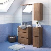 Mobile bagno Elise rovere L 60 cm