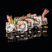 Quadro in vetro Sushi 20x20