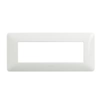 Placca 6 moduli BTicino Matix bianco