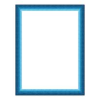 Cornice Bicolor blu e azzurro 25 x 35 cm