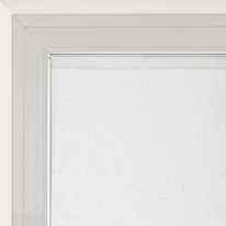 Tendina a vetro per portafinestra Manuela naturale 75 x 230 cm