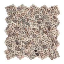 Formella Microsasso bianco,grigio 30 x 30 cm