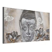 quadro dipinto a mano Buddha 65x150