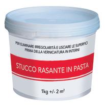 Stucco in pasta Rasante liscio bianco 1 kg
