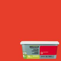 Idropittura superlavabile Smacchiabile Rosso Rosso 3 - 2,5 L Luxens