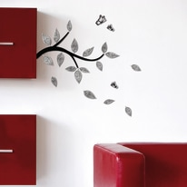 Wallsticker 3D Foam M Branch