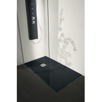 Piatto doccia resina Liso 190 x 100 cm antracite