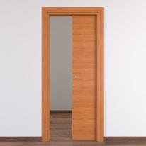 Porta da interno scorrevole Light 60 x H 210 cm reversibile