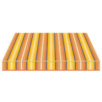 Tenda da sole a caduta cassonata Tempotest Parà 240 x 250 cm blu/giallo/avorio/marrone Cod. 773/54
