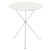 Tavolo pieghevole Gueridon, Ø 60 cm bianco
