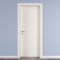 Porta da interno battente Star Bianco matrix 60 x H 210 cm reversibile