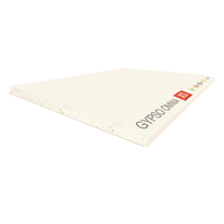 Lastra di cartongesso Omnia XS alta resistenza ignifuga idrofuga 90 x 180 cm, spessore 12,5 mm
