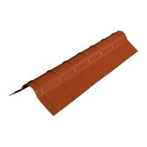 Colmo Polivalente in plastica color rosso siena 41 x 16 cm, L 120 cm
