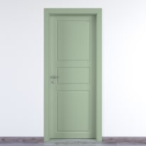 Porta da interno battente New York verde 60 x H 210 cm dx