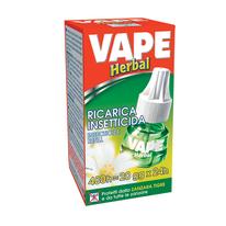 Refill liquido Herbal antizanzara Vape 36 ml
