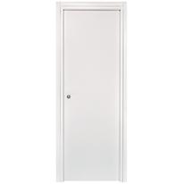 Porta da interno scorrevole Belvedere bianco 70 x H 210 cm reversibile