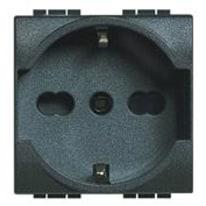 Presa universale BTicino L4140/16F Livinglight antracite