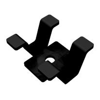 Clip fissaggio per legno composito Premium