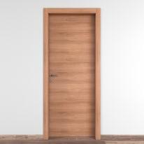 Porta da interno battente Degas noce 70 x H 210 cm reversibile
