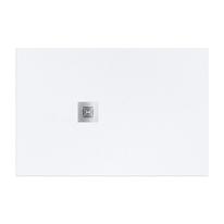 Piatto doccia resina Logic 160 x 90 cm bianco
