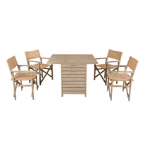 Set Tavolo consolle con 4 sedie provence