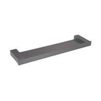 Mensola Oslo satinato grigio L 50 cm