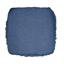 Cuscino per sedia Antonella blu 40 x 40 cm