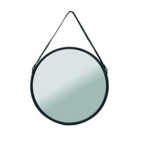 specchio da parete rotondo Kuze 40,5 x 40,5 cm