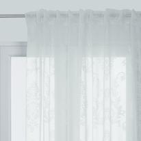 Tenda Shabby bianco 140 x 290 cm