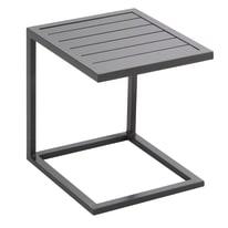 Tavolino 45 x 40 cm per lettino Lisboa grigio antracite