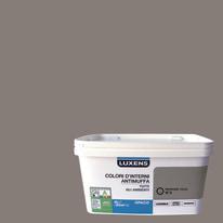 Idropittura lavabile Antimuffa Marrone Talpa 3 - 4 L Luxens