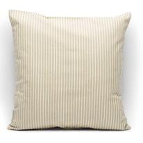 Fodera per cuscino Riga ecru 40 x 40 cm