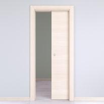 Porta da interno scorrevole Lucad Grano 70 x H 210 cm reversibile