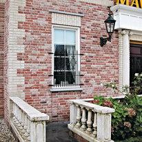 Rivestimento decorativo Maison rosso mattone