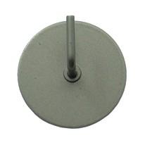 Supporti adesivi colore acciaio