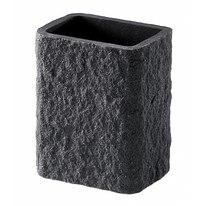 Porta spazzolini Aries grigio