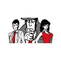 stampa su tela Lupin Margot&Zenig 60x120