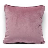 Cuscino Velluto rosa 40 x 40 cm