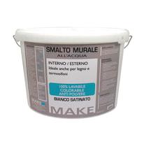 Smalto murale bianco satinato Make 10 L