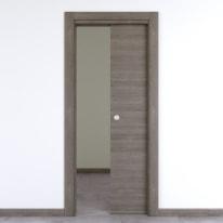 Porta da interno scorrevole Starwood pietra 70 x H 210 cm reversibile