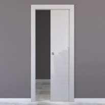 Porta da interno scorrevole Massaua silk 60 x H 210 cm reversibile