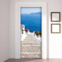 Sticker Door Cover Greece