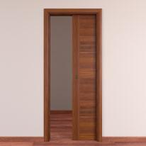 Porta da interno scorrevole Tower 70 x H 210 cm reversibile