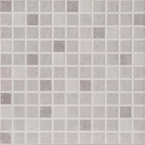 Mosaico Luminor 20 x 20 cm bianco, viola