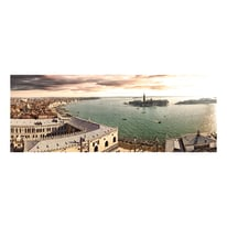 quadro su tela Venezia laguna 40x125