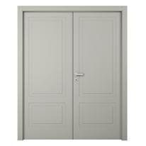 Porta da interno battente Nakano 2 Ante RAL 7044 180 x H 210 cm dx