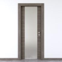 Porta da interno battente Starwood pietra 60 x H 210 cm sx