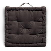 Cuscino Futon Clea Inspire marrone 60 x 60 cm