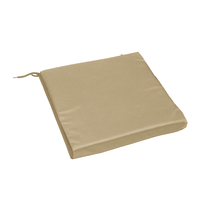 Cuscino seduta tortora 38,5 x 38,5 cm
