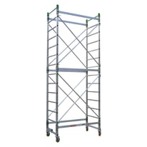 Base trabattello Facal Doge 65 in alluminio, per lavori fono a 4,9 m